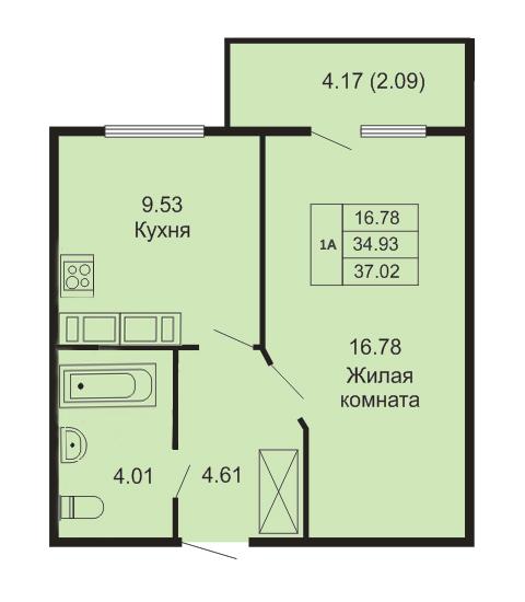 квартиры в кудрово цены